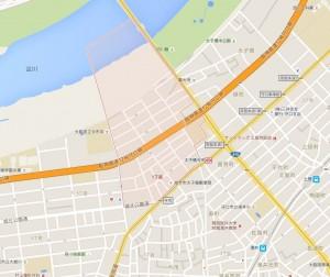 太子橋1地図