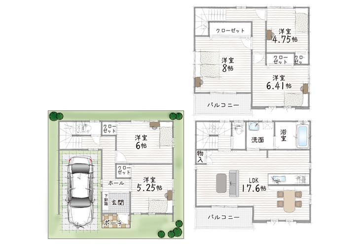 I号地モデルハウスプラン
