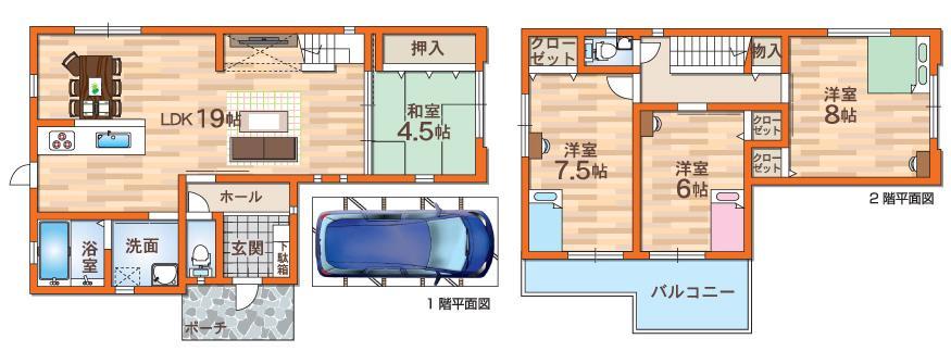 D号地モデルハウスプラン