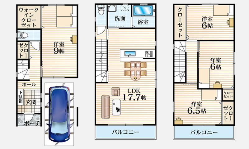 Ⅲ-K号地モデルハウス
