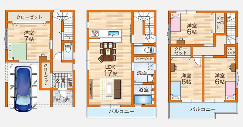 Ⅱ-F号地モデルハウス
