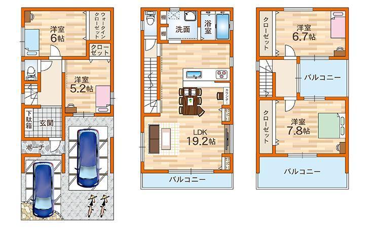 A号地モデルハウス