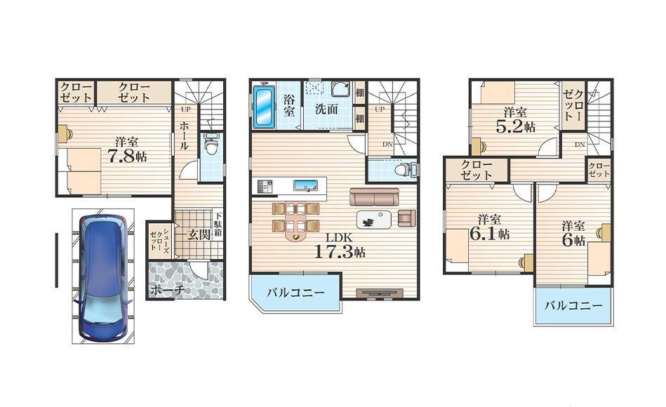 E号地モデルハウス