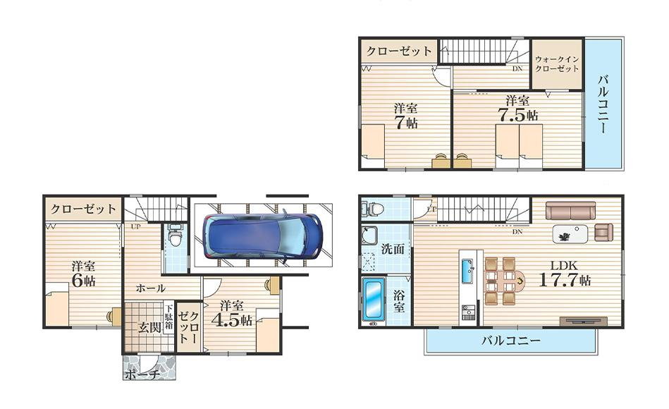 F号地モデルハウス